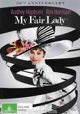 My Fair Lady DVD TOP 500 MOVIES MUSICAL Audrey Hepburn Rex Harrison BRAND NEW R4