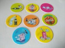 POG CAPS FLIPPO Coca-Cola serie complete de 8 crazy IceCube tricker