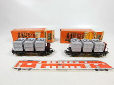 CC513-0, 5 #2x märklin H0/AC 4614 Container Car from House to House DB, Top; Box