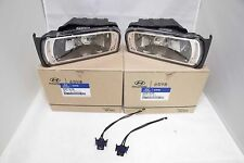 Genuine Both Side Fog Light Lamp with Connector For Hyundai Azera TG 2006 2011