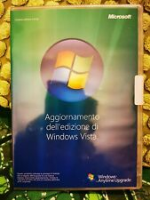 WINDOWS VISTA-Microsoft Aggiornamento ediz.Windows Vista X12-95877 32 bit NUOVO!
