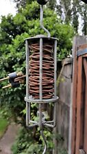 Vintage Hanging Canadian Electrical Lantern 6-8 Volts 4.5m Electrical Cable Drum