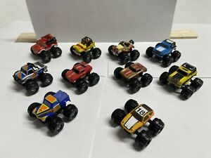 Galoob Micro Machines 10 monster Trucks Cars Lot Of Ten, Blazer Truck Car