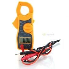 Mt87 Mini Clamp Type Lcd Digital Multimeter Acdc Voltage Ammeter Ohmmeter