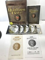 Vintage PC BIG BOX GAME  Baldur's Gate  Forgotten Realms.  Collector's   CLEAN