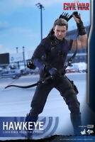 1:6 Hot Toys Captain America: Civil War Hawkeye Figure Toy  MMS358 Collection