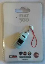 Fiat 500 Celeste charms per cellulare o per portachiavi Nuovo charm
