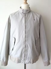 US POLO ASSN. Men's Beige Casual Bomber Harrington Jacket Size XL Mint Condition
