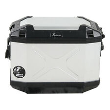 Hepco & Becker Koffer XPLORER 30 Liter - LINKS - SILBER