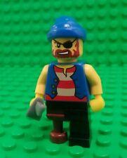 *NEW* Lego Pirate Minifig Figure Wooden Leg Pirates Cutlass Sword Fig x 1