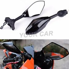 Motorcycle Led Intergrated Turn Signal Side Mirrors for Suzuki Ducati Sport Bike