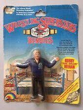 WWF LJN BENDIE MOC BOBBY THE BRAIN HEENAN wwe vintage ACTION figures grand toys