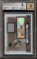 2008 Bowman Sterling Jesus Montero Rookie RC Jersey BGS 9 Autograph 10 Auto 06