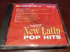 POCKET SONGS KARAOKE DISC PSCDG 1570 NEW LATIN POP HITS 2002 CD+G MULTIPLEX