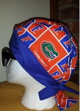 FLORIDA GATORS UNIVERSITY OF FLORIDA DU RAG SKULL CAP BANDANA BIKER CHEMO CAP