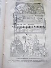 Un Précurseur du Magasin Pittoresque 1873 Gravure Article de presse