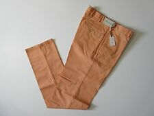 NWT Peter Millar Raleigh in Clockwork Flat Front Washed Chino Pants 33 x 36 $125