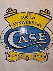 Vintage Case XX Knives Porcelain Sign 100th Anniversary 1889 1989