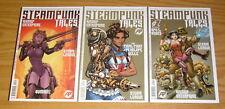 Steampunk Tales #1-3 VF/NM complete series - steam league by ben dunn - set lot
