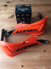 Acerbis x - Originale Universale Moto Protezioni Mano & Kit Attacchi KTM Arancio