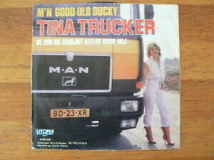 EP  SINGLE  MAN TRUCK COVER TINA TRUCKER M'N GOOD OLD DUCKY 7 INCH A