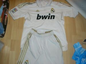 Maillot + short football adidas Réal Madrid taille L