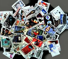 High Value packet of World Commemoratives - 100 diff. Complete sets and singles