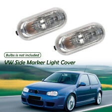 Pair Side Marker Light Housing Cover for VW Golf Jetta Bora MK4 Passat B5 B5.5