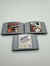 Nintendo N64 Games Bundle - 1080 Snowboarding, Top Gear Rally, SuperStar Soccer