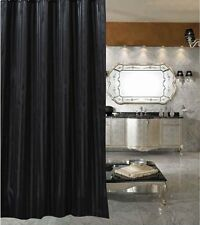 Best deals black satin stripe shower curtain new free shipping