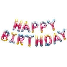 Letter Balloons Happy Birthday Balloon Letter Balloon