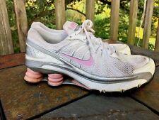 NIKE SHOX Avenue Metallic Silver PINK TURBO Athletic Run Walk Yoga Women Shoes 8