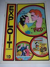 EXPLOIT COMICS  N° 19  ( DEDICATO AL GIALLO E AL PERSONAGGIO DI RED BARRY ) 1980