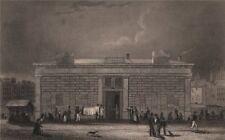 PARIS. La morgue, Quai Notre Dame. BICKNELL 1845 old antique print picture