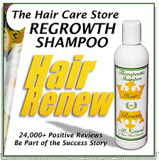 NATURAL HAIR RENEW SHAMPOO loss regrowth regrow treatment thin alopecia women