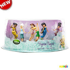Disney Store The Secret of the Wings Fairies Figurine Playset Tinker Bell Rare !