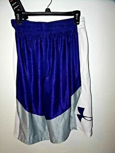 NWT Under Armour Heat Gear Basketball Athletic Shorts Loose Fit S