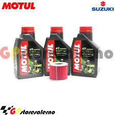 TAGLIANDO OLIO + FILTRO MOTUL 5100 15W50 SUZUKI 550 GS L 1985