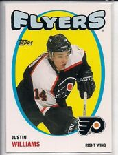 2001-02 Topps 71-72 Heritage Parallel Justin Williams #33
