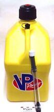 VP Racing Fuels Yellow 5 Gallon Fuel Jug & FREE Filler Hose - VPF 3552