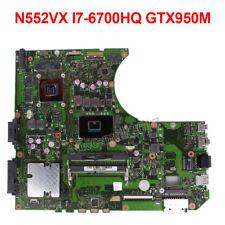 Per ASUS N552VX N552V N552 Scheda Madre N552VX Scheda Madre i7-6700HQ GTX950M 4Gb