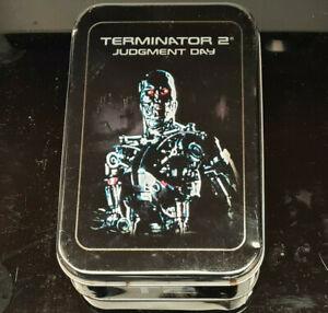 Terminator 2 FilmCardz Artbox 2003 Factory Tin + Preview Set #0263/1008 + Viewer