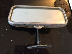 VINTAGE Antique Old Car LUCAS DIPPING MIRROR dipping rear view mirror