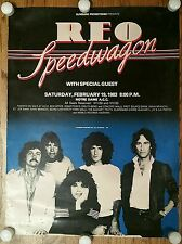 Reo Speedwagon 1983 Concert Promotions Music Poster advertisement Notre Dame, IN