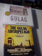The Russian GULAG lot of 2 History Audiobooks on CDs very good