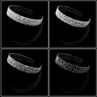 Fashion Women's Crystal Headband Wide Head Band Hairband Hair Hoop Accessories