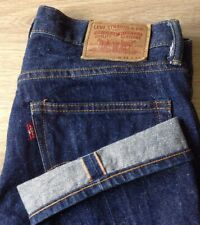 LEVI'S SELVEDGE JEANS SIZE 31 X 34 RED TAB STARIGHT FIT SEE DESCRIPTION