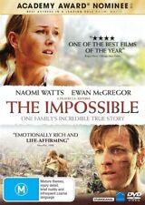 The Impossible (DVD, 2013) Naomi Watts Ewan McGregor R4 🇦🇺 Brand New Sealed