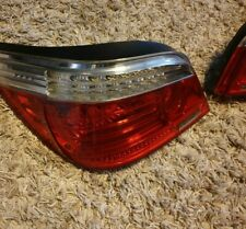 BMW 5 SERIES E60 LCI GENUINE LED REAR TAIL LIGHT LAMP UNITS LEFT