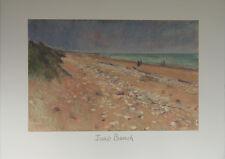 """Juno Beach"" Lithographie signée Jeffery STRIDE"